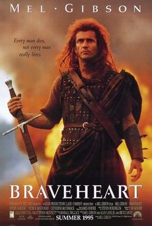 Braveheart - North American theatrical release poster
