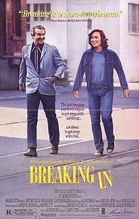 <i>Breaking In</i> (1989 film) 1989 film by Bill Forsyth