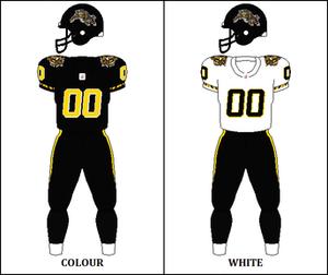 2003 Hamilton Tiger-Cats season - Image: CFL HAM Jersey 2003