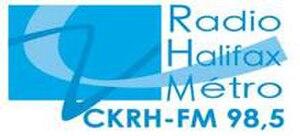 CKRH-FM - Image: CKRH 98.5Radio Halifax Metro logo
