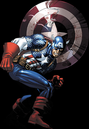 Fallen Son: The Death of Captain America - Cover art for Fallen Son: Death of Captain America – Captain America by John Romita, Jr.