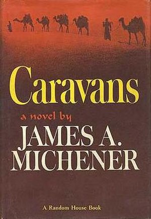 Caravans (novel) - First edition cover