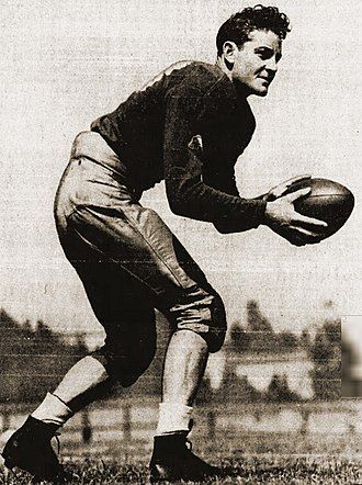 Ernie Case - Case as sophomore QB of the UCLA Bruins