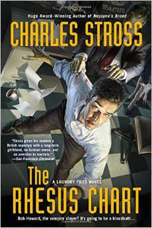 The Laundry Files - Image: Charles Stross The Rhesus Chart
