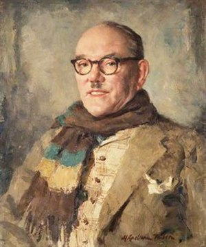 Dave Willis (comedian) - Painting of comedian Dave Willis by Henry Raeburn Dobson, 1940  National Galleries of Scotland