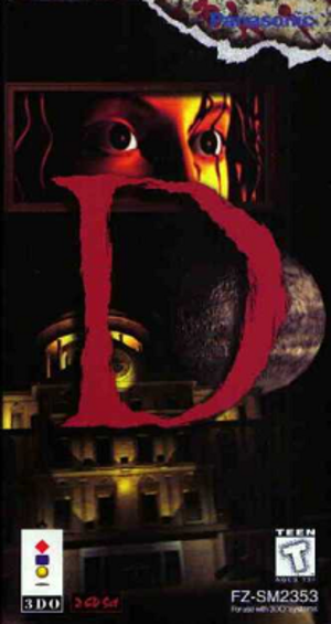 D (video game) - Image: D 3do cover