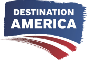 Destination America - Logo used until 2015.