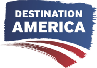 Destination America - Destination America logo used from May 26, 2012 to March 15, 2015
