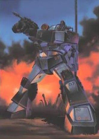 Fang of the Sun Dougram - The Dougram Combat Armor