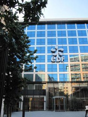 Électricité de France - EDF head office, 22–30 avenue de Wagram, Paris 8th arr.