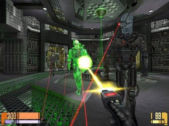 Star Trek: Voyager – Elite Force - Borg characters will adapt to the player's weapons over time, making them harder to harm.