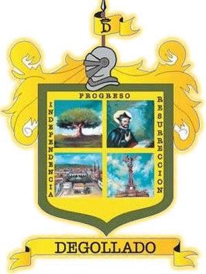 Degollado - Image: Escudo Armas 1