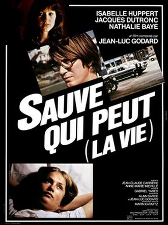Every Man for Himself (1980 film) - French poster