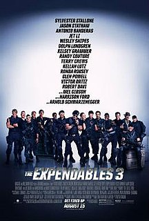<i>The Expendables 3</i> 2014 film by Patrick Hughes