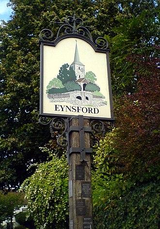 Eynsford - Village sign