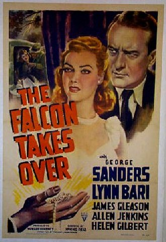 Farewell, My Lovely - The Falcon Takes Over (1942), the first film adaptation of the novel, starring George Sanders as the gentleman sleuth Gay Lawrence