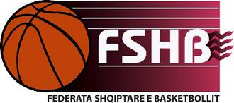 Albanian Basketball League - Image: Federata Shqiptare e Basketbollit (logo)