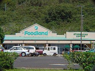 Foodland Hawaii - Foodland Hawaii store in Pupukea, O'ahu.