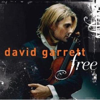 Free (David Garrett album) - Image: Free (David Garrett album) cover