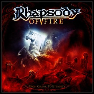 From Chaos to Eternity - Image: From Chaos to Eternity (Rhapsody of Fire) album cover