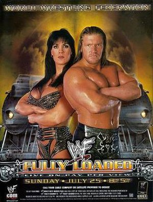 Fully Loaded (1999) - Promotional poster featuring Chyna and Triple H