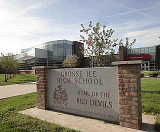 Grosse Ile High School Public high school in Grosse Ile Township, Michigan, United States