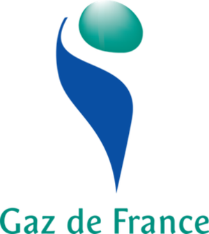 Gaz de France - Logo of Gaz de France