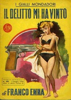 Il Giallo Mondadori - A 1956 issue of Il Giallo Mondadori.