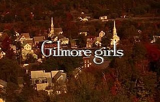 <i>Gilmore Girls</i> American comedy-drama series for The WB and The CW (2000–2007)