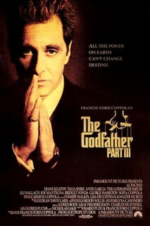 <i>The Godfather Part III</i> 1990 film directed by Francis Ford Coppola