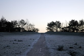 Birchwood - Pestfurlong Hill – part of the parkland near Gorse Covert, Warrington, England (2005)