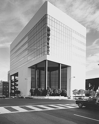 Graybar - The current Graybar corporate headquarters at the Graybar Building, Clayton, Missouri.