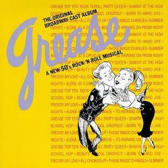 Grease (musical) - Original Broadway cast recording