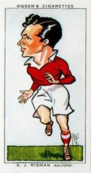 Gus Risman - Ogden's Cigarette card featuring Gus Risman