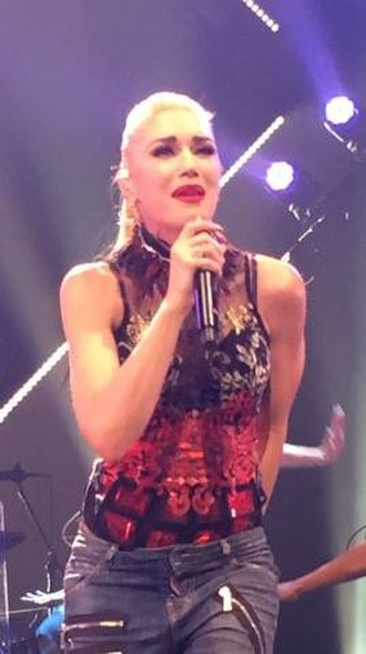 "Misery (Gwen Stefani song) - Stefani performing ""Misery"" during the This Is What the Truth Feels Like Tour in 2016."