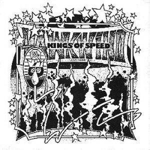 Motorhead (song) - Image: Hawkwind Kings of Speed Single (1975)