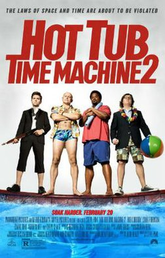 Hot Tub Time Machine 2 - Theatrical release poster