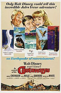 <i>In Search of the Castaways</i> (film) 1962 film by Robert Stevenson