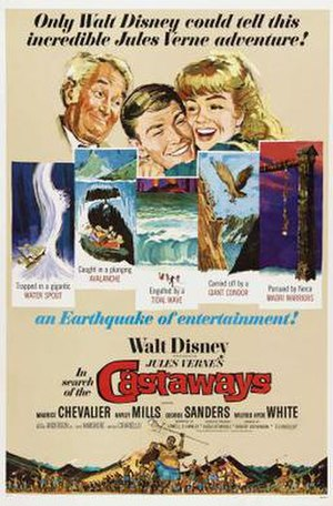 In Search of the Castaways (film) - Film poster