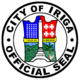 Official seal of Iriga