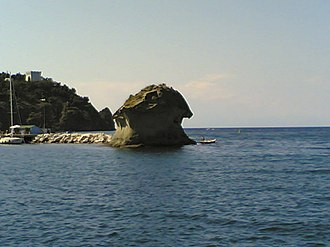 Ischia - Local view of Il Fungo (The Mushroom)