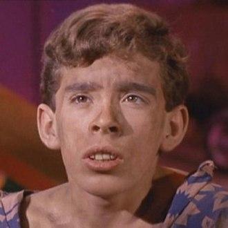 """John Megna - Megna in the Star Trek episode """"Miri"""" (1966)"""