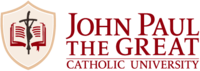 John Paul the Great Catholic University Logo.png