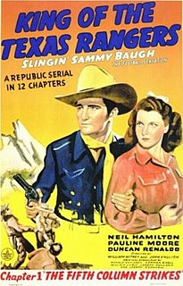 <i>King of the Texas Rangers</i> 1941 film by John English, William Witney