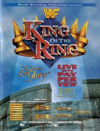 King of the Ring (1995) - Promotional poster