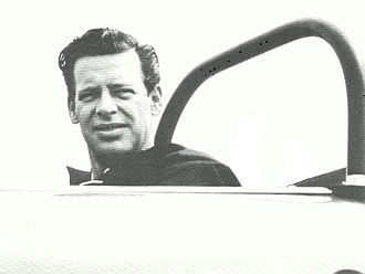 Lake Underwood - Lake Underwood in 1963 at Bridgehampton Race Circuit, where he placed first in SCCA Class E