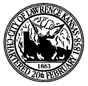 Official seal of Lawrence, Kansas