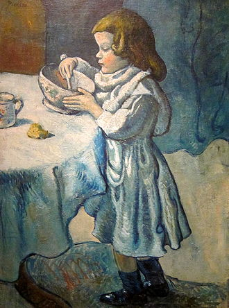 Picasso's Blue Period - Image: Le Gourmet