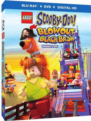 Lego Scooby-Doo! Blowout Beach Bash - Image: Lego scooby doo blu ray box