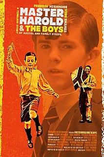 <i>Master Harold...and the Boys</i> (2010 film) 2010 American film